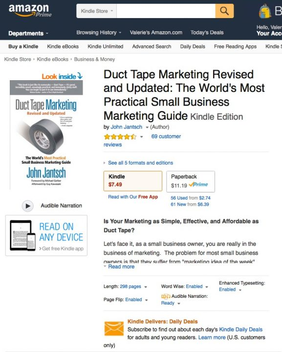 Amazon_com__Duct_Tape_Marketing_Revised_and_Updated__The_World_s_Most_Practical_Small_Business_Marketing_Guide_eBook__John_Jantsch__Kindle_Store