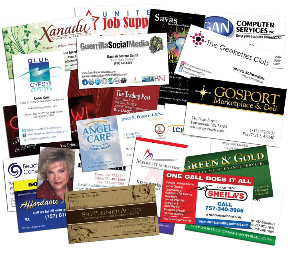 Business Cards | CDG: Web Design, Marketing, Printing - Chesapeake