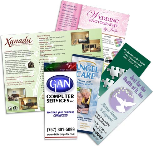 cheap brochure printing sale