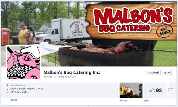 Malbons BBQ Catering Cover Photo