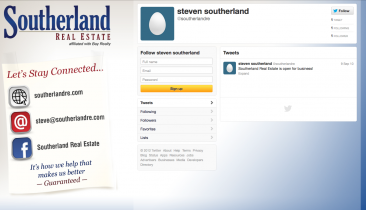 southerland real estate twitter background