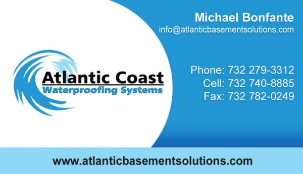 Atlantic Coast Business Cards
