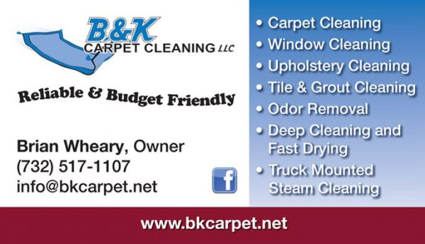 BK Carpet Business Cards