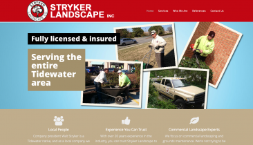 Commercial Landscape Services | Grounds Maintenance | Stryker Landscape Inc. | Norfolk, VA