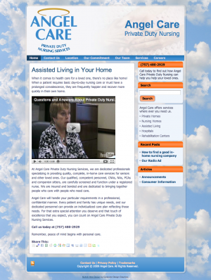 Angel Care Nursing site 1