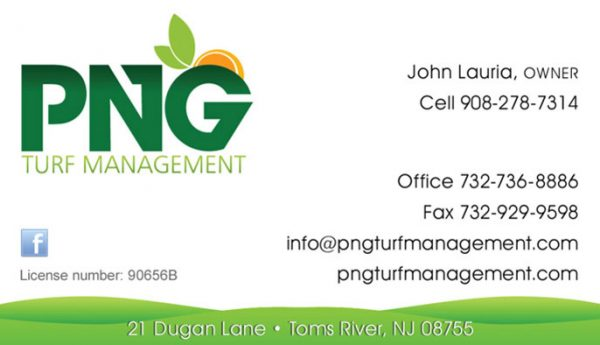 PNG Turf Business Cards