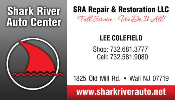 Shark River Auto Center Business Cards