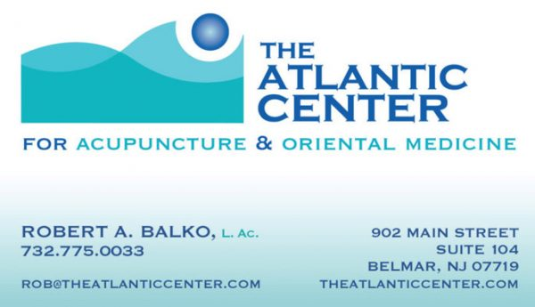 The Atlantic Center Business Cards