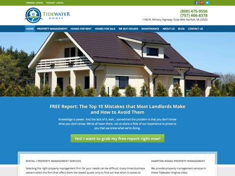Tidewater Homes