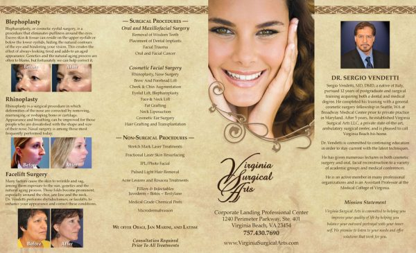 Cosmetic Surgeon Brochure