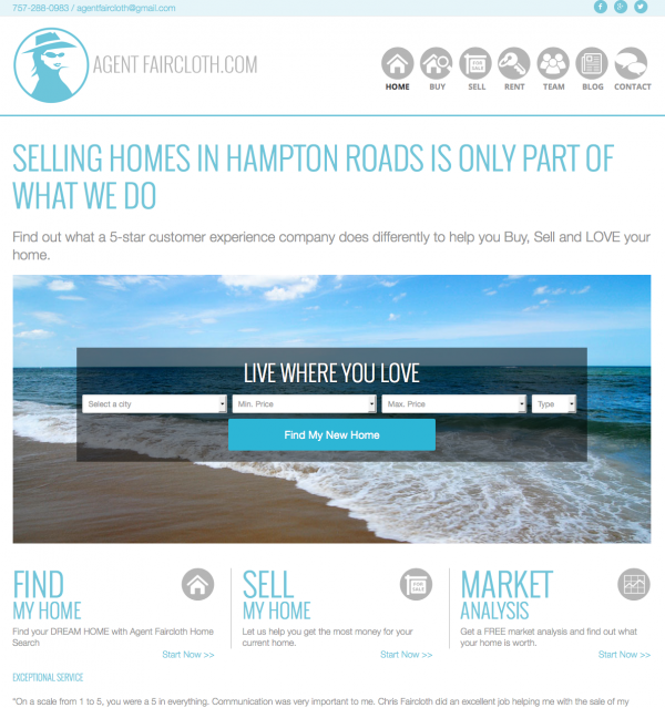 Virginia Beach Real Estate Website
