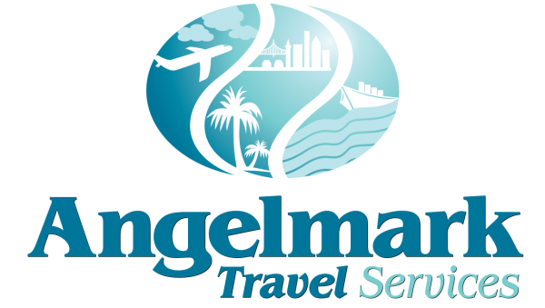 Angelmark Travel Services Logo Design