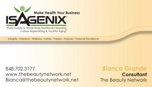 Beauty Network Business Cards