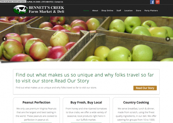 Bennett's Creek Farm Market