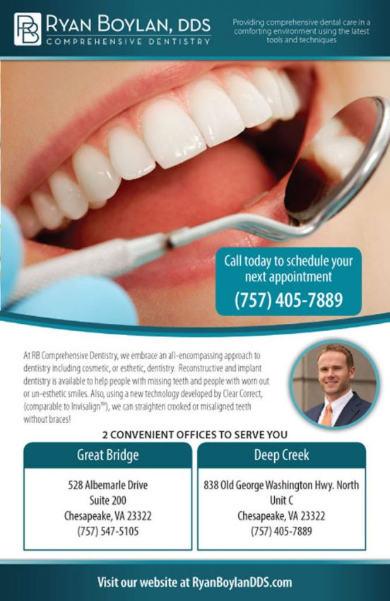 Ryan Boylan Dentistry Brochure