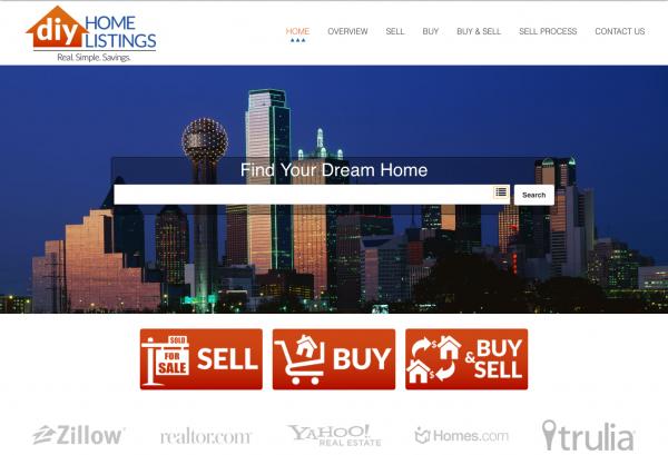 DIY Homelistings Website