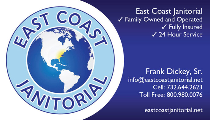 East Coast Janitorial Business Cards | Portfolio - Business Cards ...