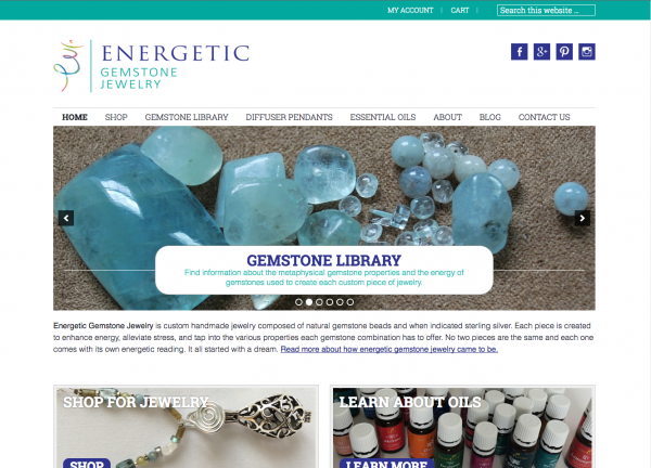 Energetic Gemstone Jewelry