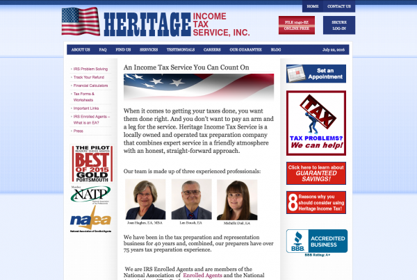 Heritage Income Tax Service