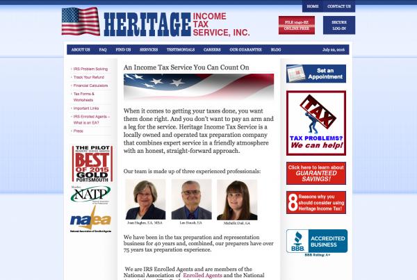 Heritage Income Tax Service
