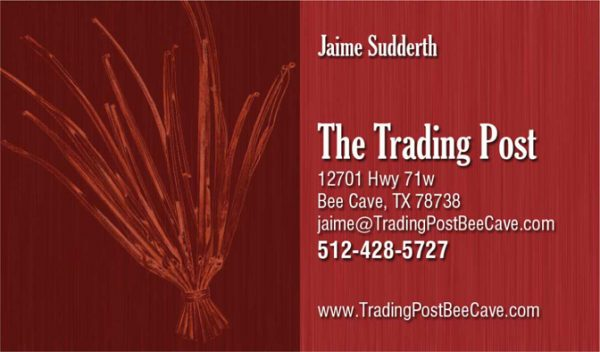 The Trading Post Business Cards