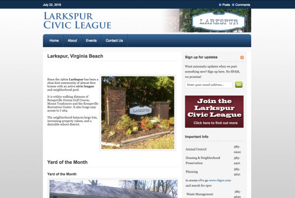 Larkspur Civic League