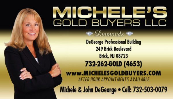 Michelle's Gold Buyers Business Cards
