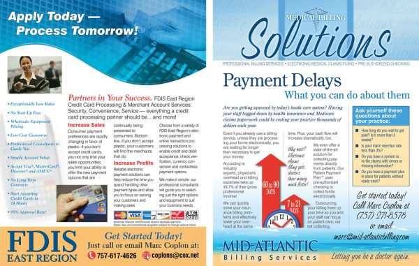 Mid-Atlantic Billing Flyers – more