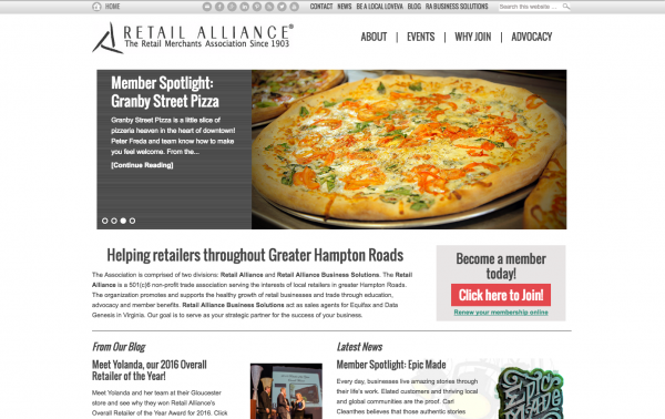 Retail Alliance Website