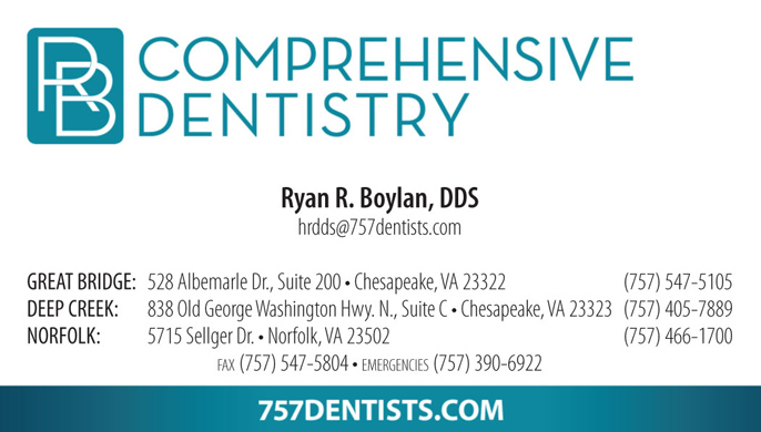Rb comprehensive dentistry business cards cdg marketing web design rb comprehensive dentistry business cards reheart Image collections