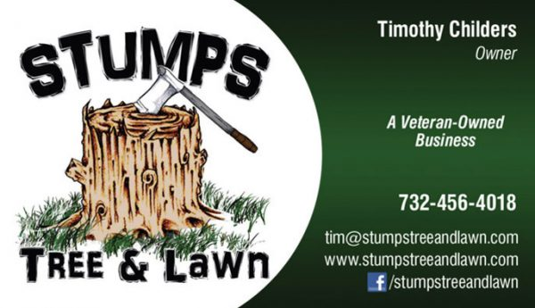 Stumps  Business Cards