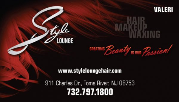 Style Lounge Business Cards