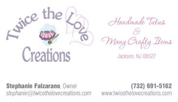 Business cards cdg web design marketing printing chesapeake twice the love bus cards 366x210 reheart Image collections