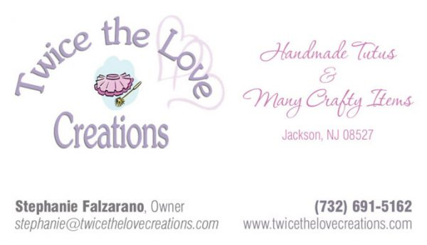 Twice the Love Creations Business Cards