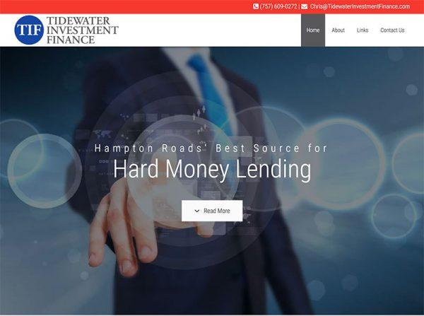 Hard Money Lender Website