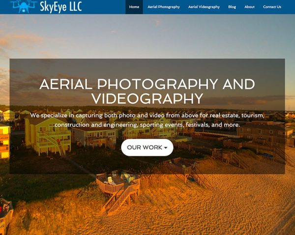 Skyeye Aerial Photographer in Virginia Beach Website