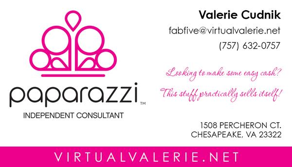 Paparazzi Biz Card Design Front